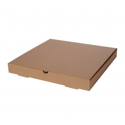 Baskısız Pizza Kutusu 22x22x4 cm (100Adet)