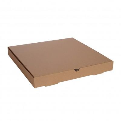 Baskısız Pizza Kutusu 25x25x3 cm (100 Adet)