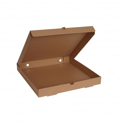 Baskısız Pizza Kutusu 33x33x4 cm (100 Adet)