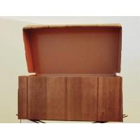 E-Ticaret Karton Kargo Kutusu Ahşap Baskılı 14x24x10 cm 1.12 (100 Adet)