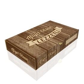 Baskılı Pide Kutusu 14x23,5x4 cm (100 Adet)